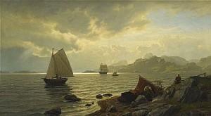 Norsk Kust by Hans Fredrik GUDE