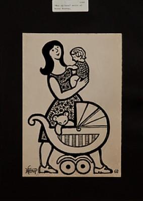 Mor Med Barn by Henry HEERUP