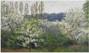 Blommande Träd by Ida GISIKO SPÄRCK