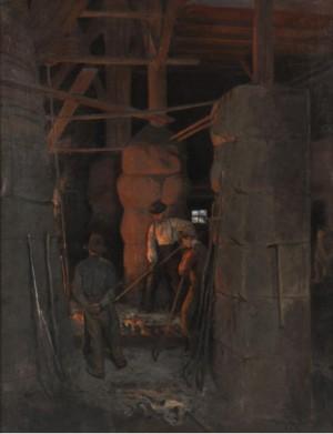 Smeder I Arbete, Troligen Bergslagen by Wilhelm SMITH