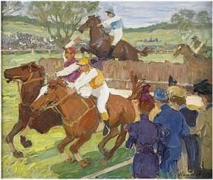 Steeplechase by Gösta Von HENNIGS