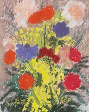 Blommor by Inge SCHIÖLER
