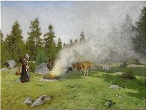 På Fäbovallen by Olof ARBORELIUS