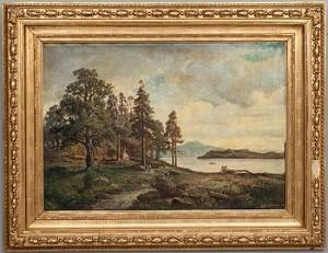 Sommarlandskap by Lars Gustav KINMANSSON