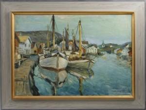 Motiv Från Grundsund by Olle ALMGREN