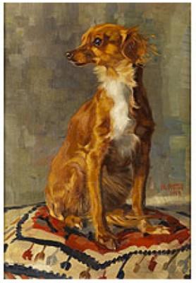 Schosshund by Norbertine Von BRESSLERN-ROTH