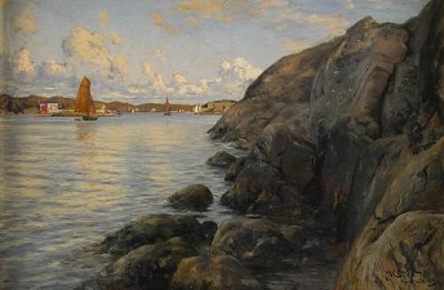 Sommardag I Marstrand by Johan ERICSON
