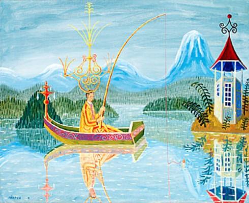 Den Gyllene Fiskaren by Mårten ANDERSSON