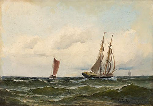 Stormande Hav by Christian Fredrik SWENSSON