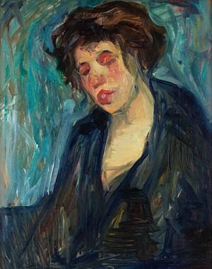 Kvinna by Nils Von DARDEL