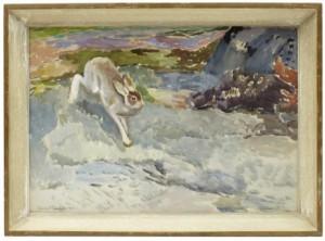 Hare by Lennart SEGERSTRÅLE