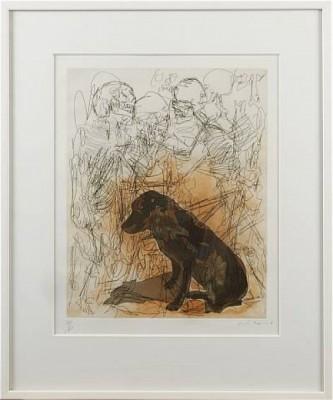 Hund by Nino LONGOBARDI
