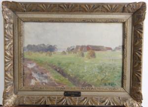 Landskapsvy by Gerda AHLM