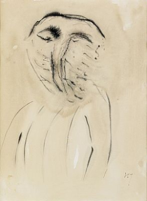 Face by Henri MICHAUX