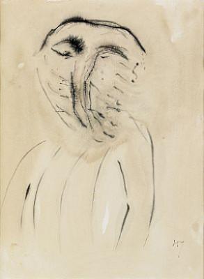 Face by Henri MICHAUX