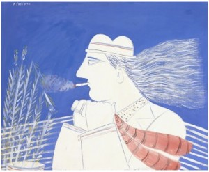 Le Fumeur by Alexandre Alecos FASSIANOS