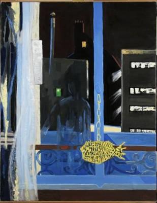 Komposition Med Fisk by Tage HEDQVIST