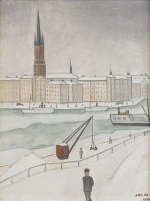 Stockholmsvy by Einar JOLIN