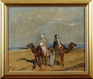 ökenmotiv Med Kameler by Einar PALME
