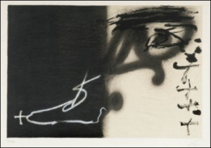 Composition by Antoni TAPIES
