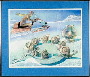 Escargots by Hans ARNOLD