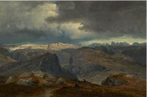 Høyfjell by Hans Fredrik GUDE