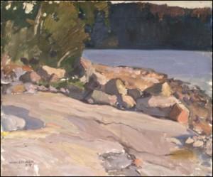Strandklippor by Wilho SJÖSTRÖM