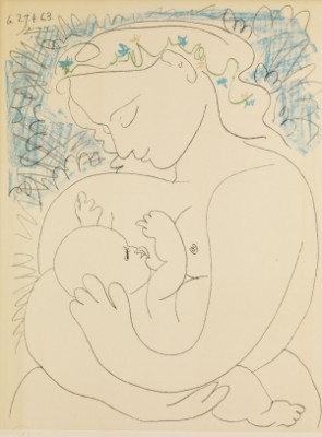 Maternité by Pablo PICASSO