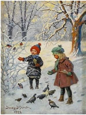 Vinterbild by Jenny NYSTRÖM