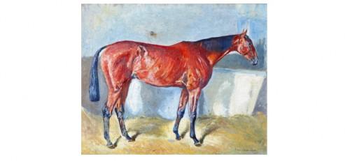 Hästporträtt by Sam ARSENIUS