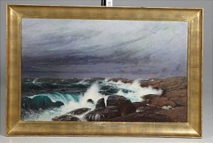 Stormande Hav by Alfred THÖRNE