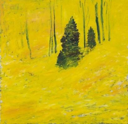 Gult Landskap by Hans WIGERT