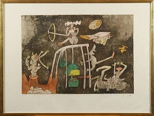 Figuromposition by Roberto MATTA