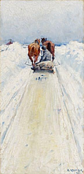 Mellan Snövallarna by Nils KREUGER