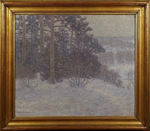 Vinterandskap by Wilhelm BEHM