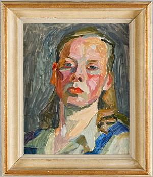 Självporträtt by Astrid Munthe De WOLFE