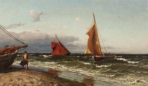 Vid Kusten by Hans Fredrik GUDE