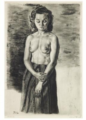 Astrid - Demi-nude by Eduard WIIRALT