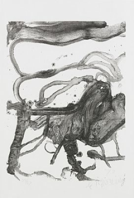 High School Desk by Willem De KOONING