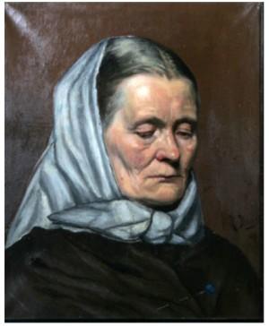 Porträtt Av äldre Kvinna by Richard BERGH