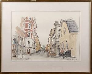 Stockholmsmotiv by Jan LUNDQVIST