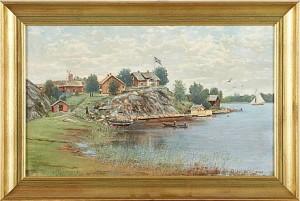 Stensvik, Ljusterö by Otto HESSELBOM