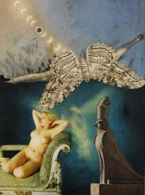 Tjugo Faser Av Kristina, Levande I Stjärnans Fjärran Skimmer Ljusets Nära åtroskri, Fas Nr 12 by Max Walter 'Max Walters' SVANBERG