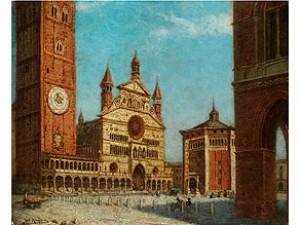 Ansicht Von Cremona by Karl KAUFMANN