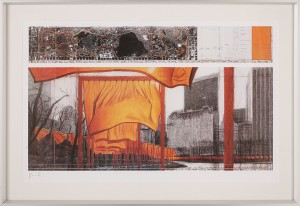The Gates, Central Park, New York by Christo JAVACHEFF