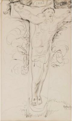 Kristus På Korset by Ernst JOSEPHSON