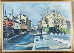 Fjällgatan by Bruno KARLSSON