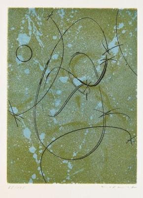 Hommage à Marcel Duchamp, (lit: Spies/leppien 140 B) by Max ERNST