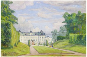 Drottningholm Från Parken by Prins EUGEN