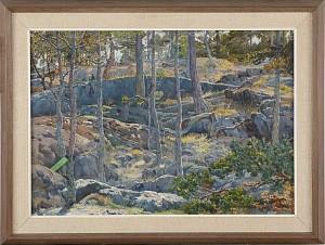 Skogsparti by Gunnar WIDFORSS